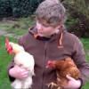 Tobias rettet Hühner vor dem Suppentopf