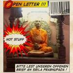 Offener Brief an Srila Prabhupada