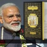 Modi & die weltgrößte Bhagavad-gita