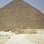 Die Cheops-Pyramide, die größte aller ägyptischen Pyramiden