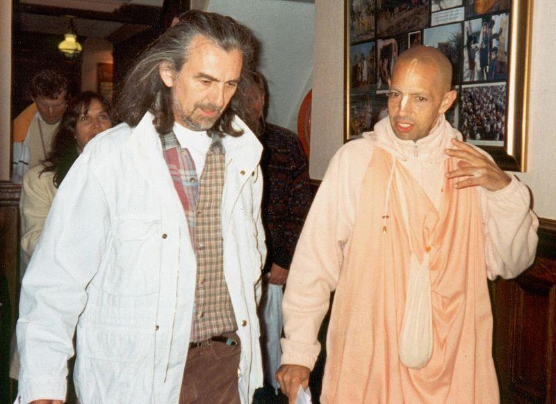 Mukunda Goswami und George Harrison, Ende der Neunziger Jahre