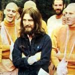 George Harrison trifft die Hare Krishnas (rechts Syamasundara Dasa, sein lebenslanger Freund)