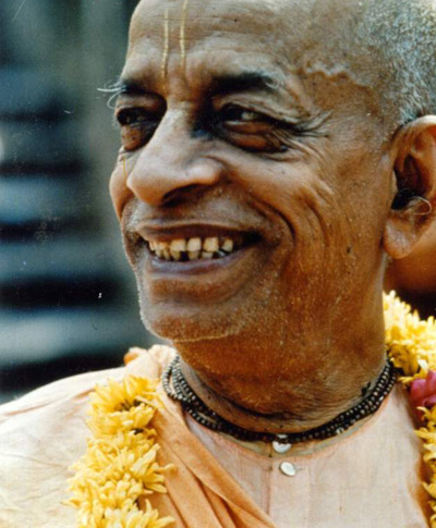 Srila Prabhupada machte die Tulsi-Halsketten, die er selbst ebenfalls trug, weltweit bekannt