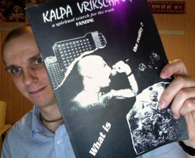 """Das """"Kalpa Vrikscha"""" Fanzine (Ausgabe 4, Anno 1996) von Amaraprabhu aus Berlin"""