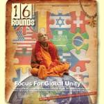 """Die Titelseite des Debut von """"16Rounds to Samadhi"""""""
