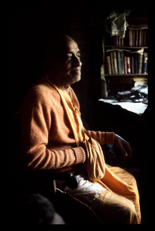 Der Gründer der Internationalen-Gesellschaft für Krishna Bewusstsein (1896-1977)