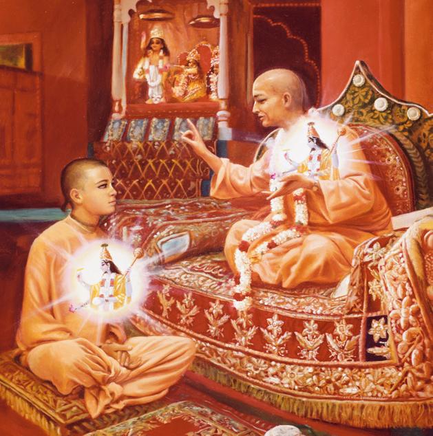 Guru-and-disciple